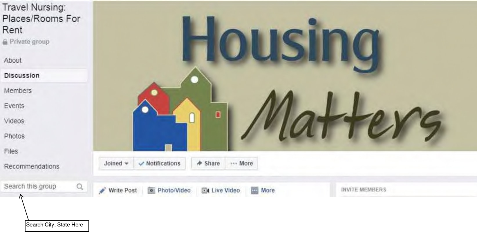 Travel Nursing Housing Search Facebook