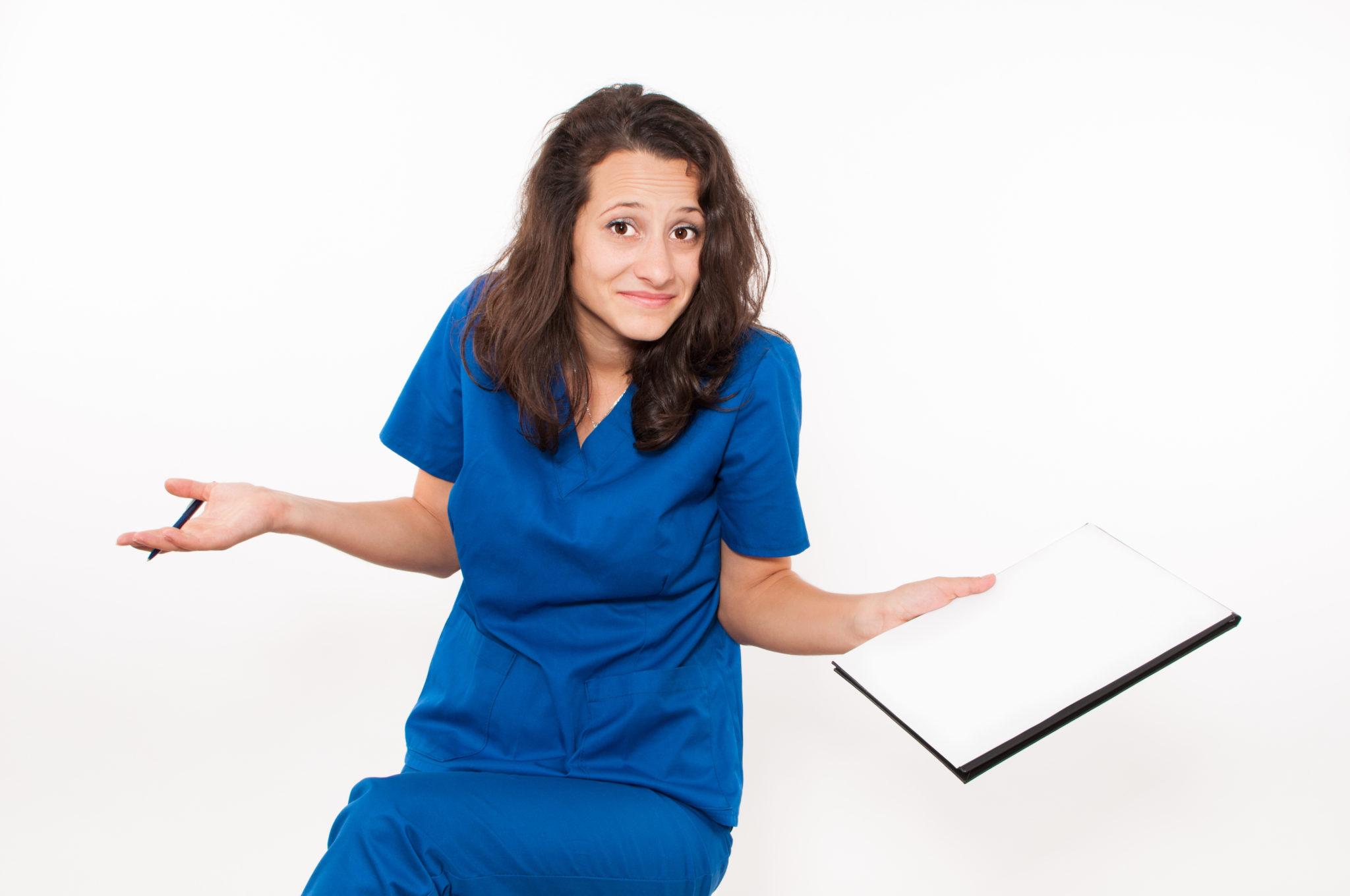 Puzzled Travel Nurse