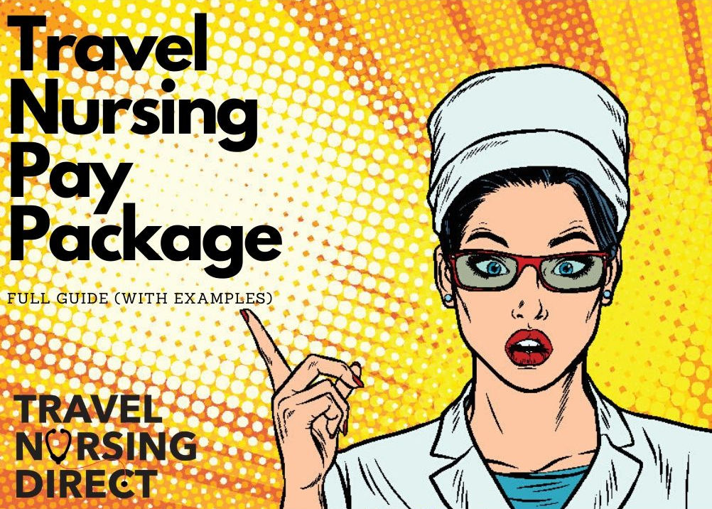 travel nurse pay package